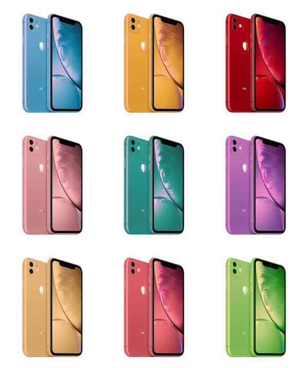 ?新iPhone大招齊出,全新彩虹配色竟然有點好看?